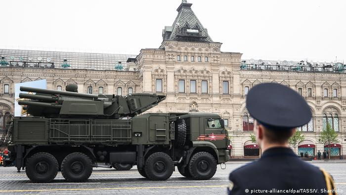 Russland Moskau | Pantsir-S während proben zu Militärparade (picture-alliance/dpa/TASS/V. Sharifulin)