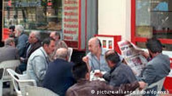 Turkish cafe in Berlin