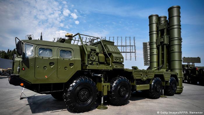 Зенитно-ракетная система С-400 Триумф