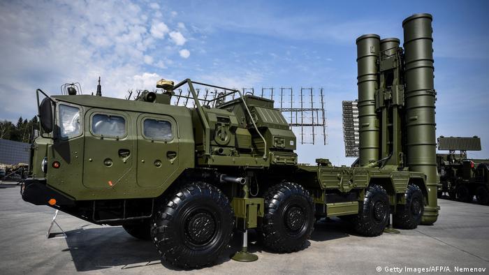 Russland Moskau | S-400 Raketenabwehrsystem (Getty Images/AFP/A. Nemenov)