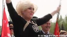 Slowjansk Exbürgermeisterin Nelya Shtepa