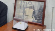 Porträt von Sadako Sasaki, Überlebende & späteres Opfer des Atombombenabwurfes auf Hiroshima