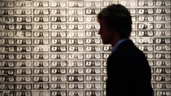 '200 One Dollar Bills' by Andy Warhol