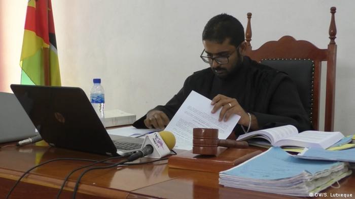 Mosambik Prozess wegen Wahlbetrugs   Richter