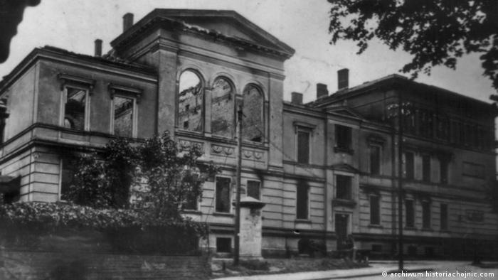 Chojnice. Budynek sądu, w którym miały padać wyroki śmierci