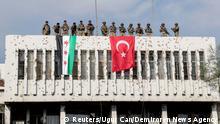 Syrien Krieg Grenze Türkei | Ras al Ain, von Türkei unterstützte Rebellen