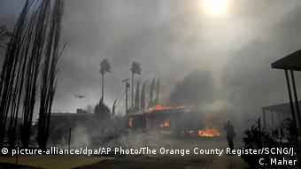 USA   Waldbrände in Kalifornien