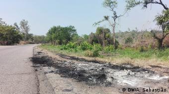 Mosambik Angriff Unbekannter in Mecombezi