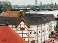 A reconstruction of Shakespeare's Globe Theatre in London