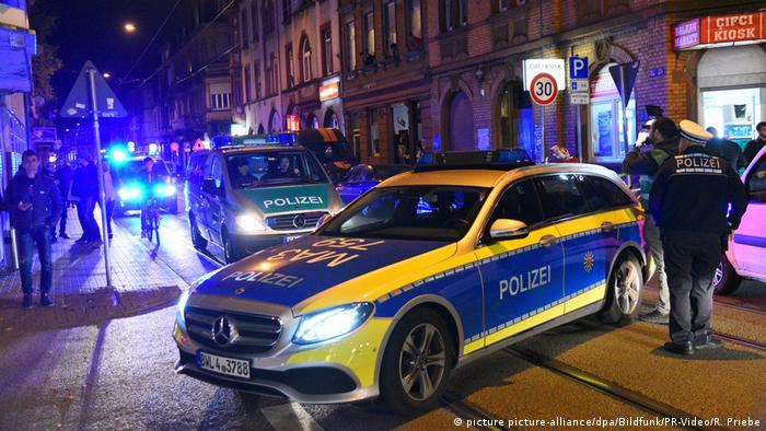 Police raid in Mannheim