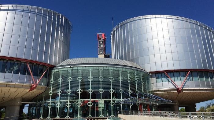 Strasbourg'daki AİHM binası