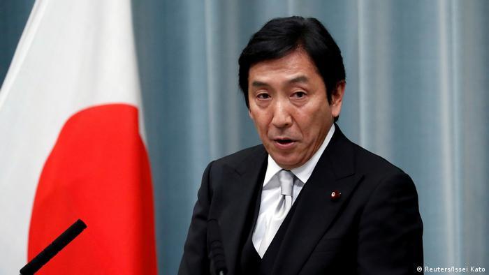 Japan Tokio PK Wirtschafts-, Handels- und Industrieminister Isshu Sugawara (Reuters/Issei Kato)