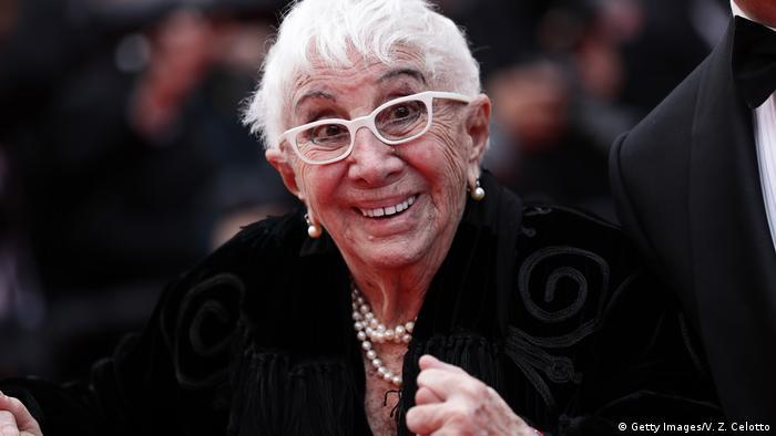 Regisseurin Lina Wertmuller bei den 72ten Cannes Film Festival (Getty Images/V. Z. Celotto)