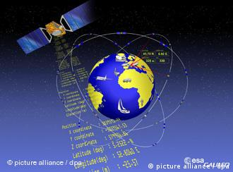 Illustration of a satellite