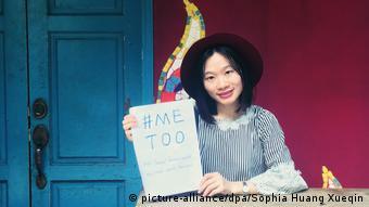 China Journalistin Sophia Huang Xueqin, #metoo-Bewegung