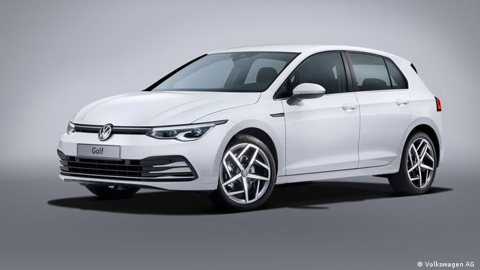 The 2019 VW Golf Mk. VII.