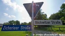Deutschland | ehemalige Grenzorte DDR-BRD Zicherie und Böckwitz