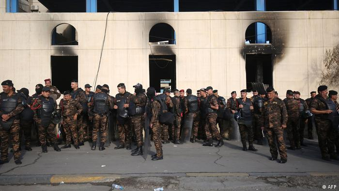 Irak Bagdad Proteste (AFP)