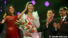 Die letzte Runde im Miss Universe Bangladesh Wettbewerb-2019