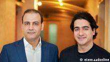 Die iranischen Sänger Homayoun Shajarian und Alireza Ghorbani