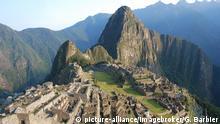 Heilige Orte Peru Machu Picchu Tourismus