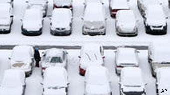 Winter / Wintereinbruch, Autos