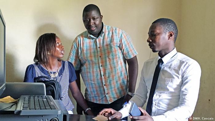 Assana Sambu Chefredakteur Zeitung O Democrata in Guinea-Bissau