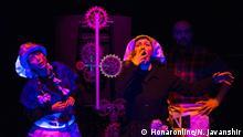"""Musical """"die Uhr"""" von Emmanuel Robles und Regie Hamidreza Hedayati."""