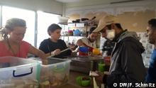 Griechenland Thessaloniki Flüchtlinge   warme Mahlzeit