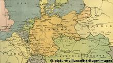 Karte von Mitteleuropa, 1919 Karte von Mitteleuropa, 1919