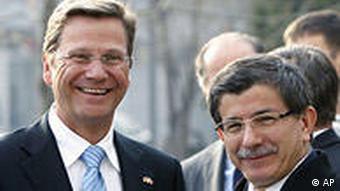 Türkei Deutschland Guido Westerwelle bei Ahmet Davutoglu in Ankara