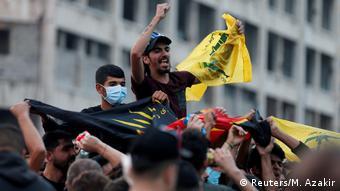 Proteste im Libanon (Reuters/M. Azakir)
