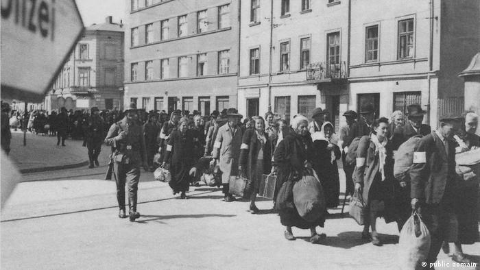 Deportacja z krakowskiego getta (marzec 1943)
