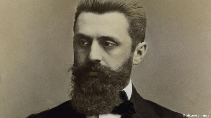 Theodor Herzl in 1900 (picture-alliance)