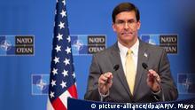 Treffen der NATO-Verteidigungsminister in Brüssel | Mark Esper