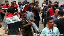 Irak Proteste gegen die Regierung