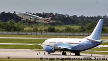 Kuba   Flughafen in Havanna