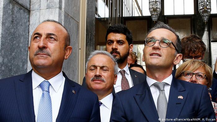Türkiye Dışişleri Bakanı Çavuşoğlu ve Almanya Dışişleri Bakanı Maas