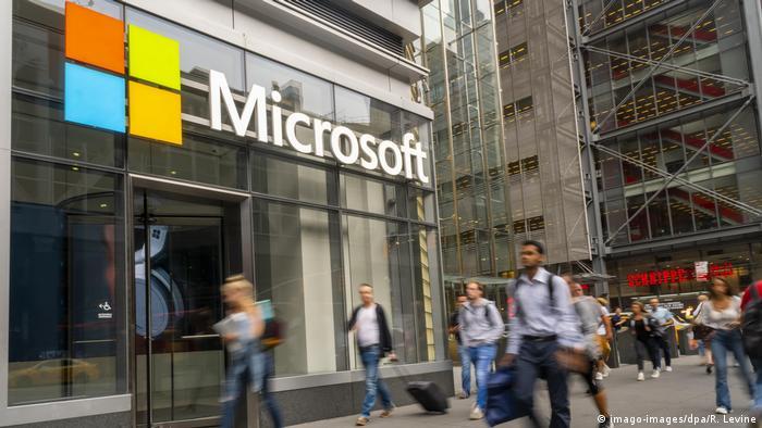 Symbolbild | Microsoft | Logo (imago-images/dpa/R. Levine)