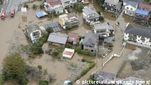 Japan Überschwemmungen nach starken Regenfällen