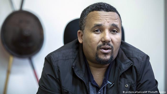 Jawar Mohammed (picture-alliance/AP Photo/M. Ayene)