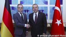 Türkei | Außennministertreffen Maas Cavusoglu