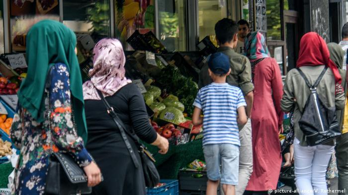 Овощной магазин в Берлине