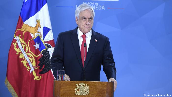 Sebastian Piñera, Präsident vonChile (picture-alliance/dpa)