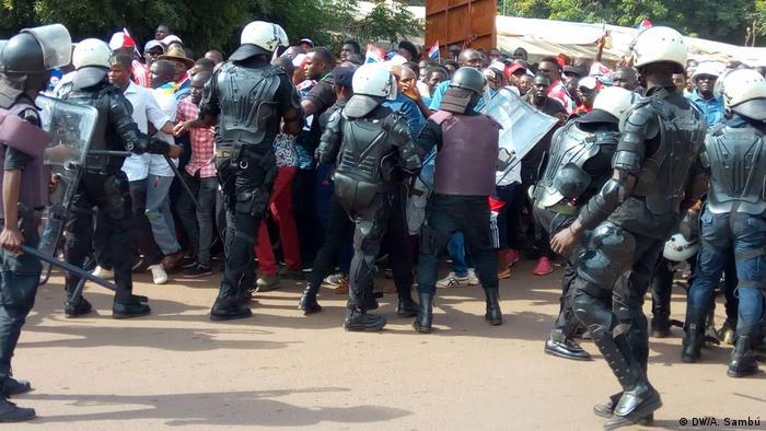 Proteste in Guinea Bissau