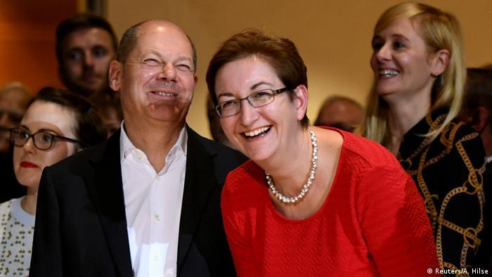 Olaf Scholz and Klara Geywitz