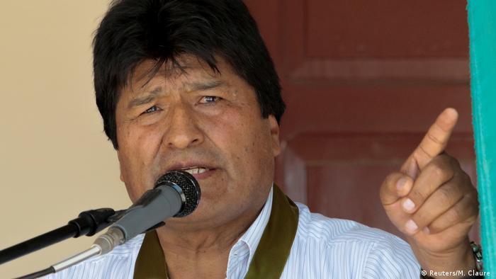 Bolivien's Präsident Evo Morales (Reuters/M. Claure )