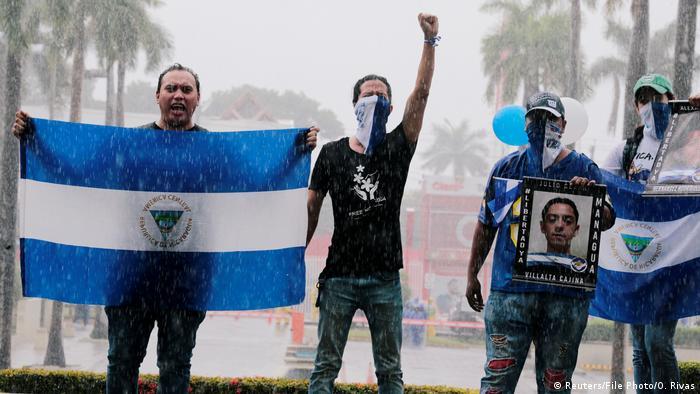 Protestas contra el Gobierno de Daniel Ortega en Nicaragua. (21.09.2019).