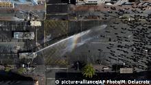 Chile Proteste in Valparaiso