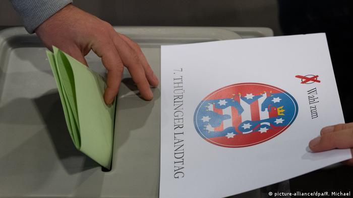 У Тюрингії розпочалися вибори до земельного парламенту